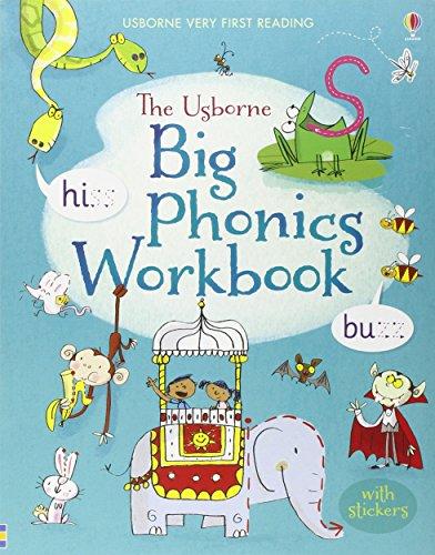 Big Phonics Workbook (Usborne Very First Reading)