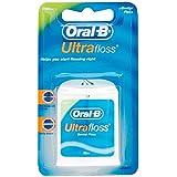 Oral-B Fil dentaire Ultra Floss - Goût de menthe - 24,6 mètres (Lot de 6)