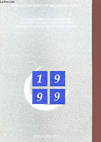 1999 bulletin n.3 ecoles normales superieures de lyon, fontenay aux roses et saint cloud