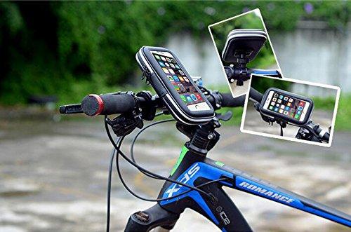 bike phone halter moacc universal wasserdicht fahrrad lenker handy halterung st nder f r apple. Black Bedroom Furniture Sets. Home Design Ideas