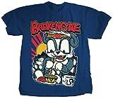 Brokencyde - Mens Panda San T-shirt in Royal