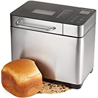 Andrew James Fresh Bake Digital Bread Maker With Seventeen Functions Delay Timer And Automatic Ingredients Dispenser