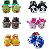 #4: EIO™ 2 Born Baby Socks cum shoes - 2 Pair set Free Delivery
