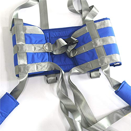 51NefzkSjRL - ZIHAOH Cabestrillo De Elevación De Paciente De Cuerpo Completo,cinturón De Transferencia Médica De Elevación para Personas Mayores Discapacitados, Cinturón para Caminar Asistido por El Paciente