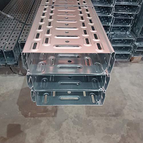 12 m Kabelrinne Kabelkanal mit integ.Verbinder Jupiter 60x200 mm Profiware von powerpreis24® ...