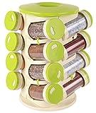#6: Trueware Spice Rack (16 Jars)