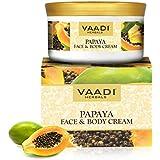 Vaadi Herbals Face and Body Cream, Papaya, 150g