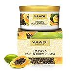 Vaadi Herbals Bio-Papaya Gesichts- und Körpercreme Anti-Aging Faltencreme, sulfatfrei - 150 g