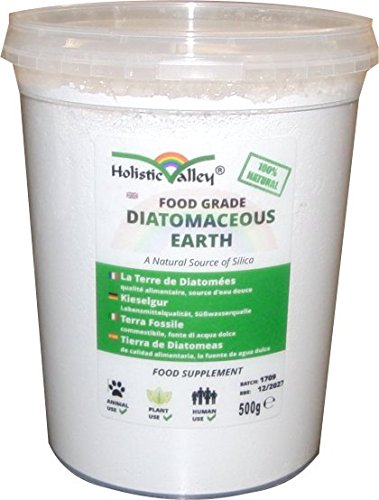 Diatomaceous Earth (Food Grade, Fresh Water Source, Peru) 500g tub