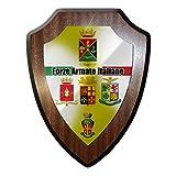 Forze Armate Italiane Streitkräfte Armee Italien Esercito Italiano Marina Militare Aeronautica Carabinieri Wappen Wappenschild #19921