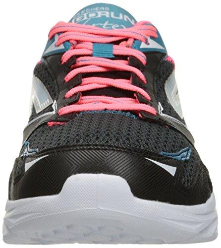Skechers prestazioni Go Run Vortex spirale scarpa da running Black/pink