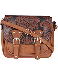 14d3f585cd Fur Jaden Tan Sling Bag for Women