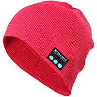 LILICAT❋ Gorro de Punto Bluetooth para Hombre Bluetooth Gorro de música, Gorro inalámbrico Beanie