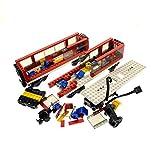 Bausteine gebraucht 1 x Lego System Set Modell 7938 City Passagier Zug rot schwarz Train Lok Waggon Eisenbahn Power Funktion Motor geprüft unvollständig