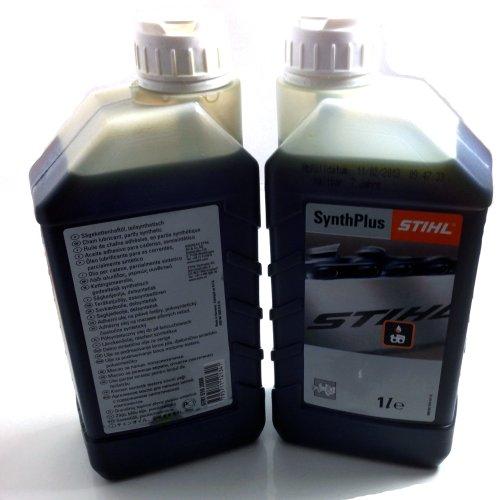 Stihl - Tanica di 1 litro di olio per catena di motosega Synth Plus