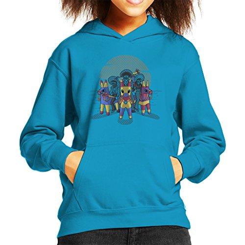 Casual Sombrero (Pinata Bandits Kid's Hooded Sweatshirt)
