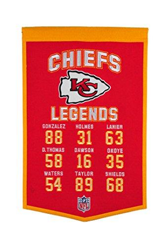 Winning Streak NFL Kansas City Chiefs Legends Banner