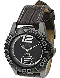 """Dice """"Primus B-3915"""" Casual Round Shaped Wrist Watch For Men. Fitted With Beautiful Black And White Color Dial..."""