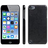 HualuBro iPod Touch 5./6. Generation Fall, iPod Touch 5/6 Schutzhülle, HL Brothers [alle um Schutz] Leder Wallet Flip-Telefon Schutzhülle Für Apple iPod Touch 5./6. Generation Leather Cover Black