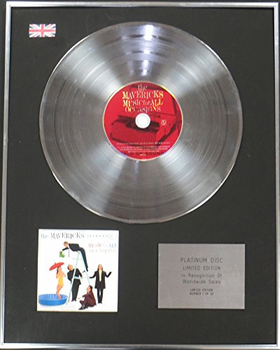 Die Mavericks – Ltd Edtn CD Platinum Disc – Musik für alle - Glas Maverick