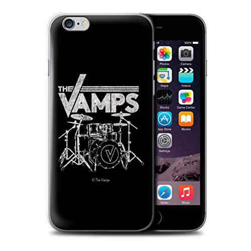 Offiziell The Vamps Hülle / Case für Apple iPhone 6S / Pack 6pcs Muster / The Vamps Graffiti Band Logo Kollektion Schlagzeug