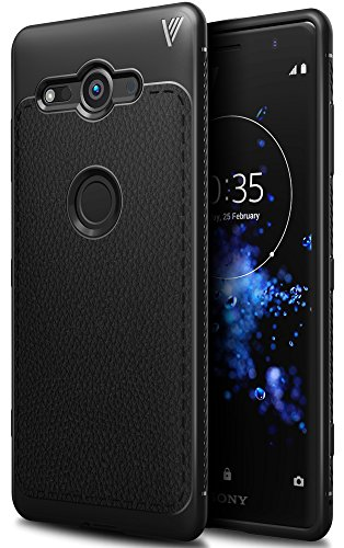 BoseWek Sony Xperia XZ2 Compact Hülle, Ultra Thin Tasche Cover TPU Silikon Handyhülle Stoßfest Case Schutzhülle Shock Absorption Backcover Hüllen für Sony Xperia XZ2 Compact Smartphone (Schwarz)