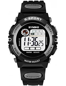 Children 's watch wasserdicht luminous multi - functional sports electronic-I