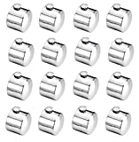 #3: A & Y Traders SS finial Only (End Cap) (No Bracket) Set of 16