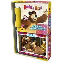 Masha e Orso. Le azioni. Con adesivi e 8 mini puzzle. Ediz. illustrata