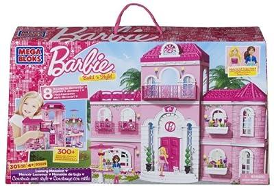 Mega Bloks 80229 - Mega Bloks Barbie Mansión de Lujo por Mega Bloks