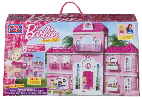 Mega Bloks 80229U - La favolosa villa di Barbie da 301 pezzi