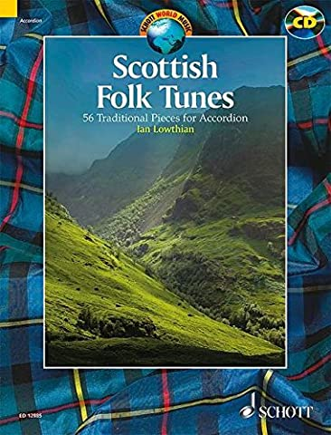 Scottish folk tunes +CD (54 pièces traditionnelles) ---