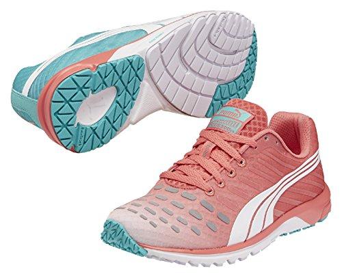 PUMA Faas 300 V3 Wn's - Zapatillas de running para mujer, color coral