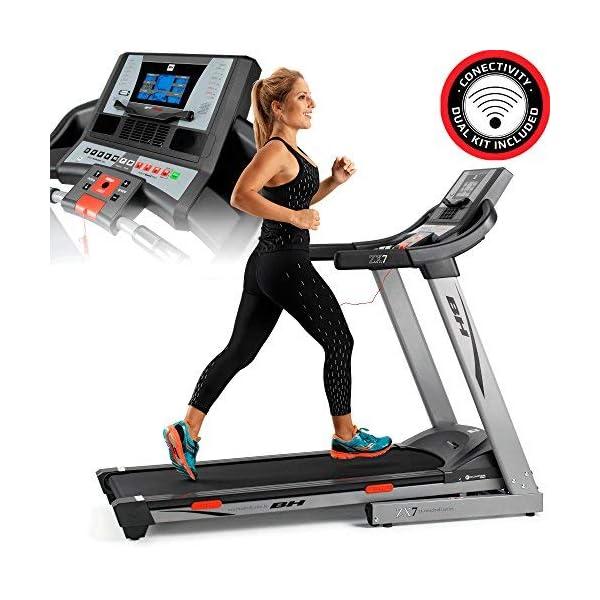 BH Fitness i.ZX7 G6473IRF - Tapis roulant - Elettrico - Pieghevole - Velocità max 18 Km/h - Inclinazione elettrica 12… 1 spesavip