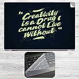Creativity Is a Drug Laptop Skin + Silic...