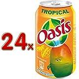 Oasis Tropical tropische Früchte (24x330ml Dosen) BE
