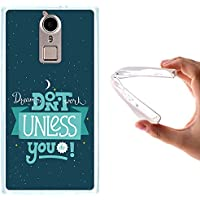Funda Doogee F5, WoowCase [ Doogee F5 ] Funda Silicona Gel Flexible Frase - Dreams Don't Work Unless You Do, Carcasa Case TPU Silicona - Transparente