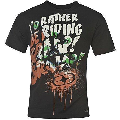 No Fear Motocross T-Shirt - black riding, L