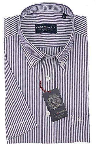 Michaelax-Fashion-Trade - Chemise business - À Carreaux - Manches Courtes - Homme Pflaume (962639600/950)