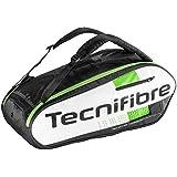 Tecnifibre Squash Green 9R kitbag- Black/White/Green