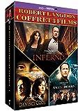 Coffret dan brown 3 films : da vinci code ; anges et démons ; inferno [FR Import] -