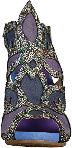 Laura Vita Damen Celeste 028 Slingback Sandalen Violett