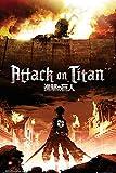 Empire Merchandising 669148 Attack on Titan, Key Art, Manga Ataque de Anime en la mayoría de Titanes de póster de Cartel de - de tamaño de 61 x 91,5 cm