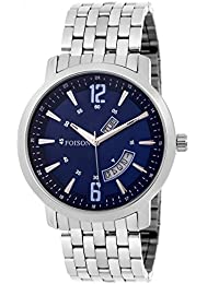 [Sponsored]Foison FS11 Designer Day And Date Display Analogue Stainless Steel Men's Wrist Watch