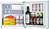 SHIVAKI Mini Bar Kühlschrank SHRF-50CH, 50 Liter, A+, 47x45x49cm, Weiss / White, Minibar, NEUWARE, [Energieklasse A+]