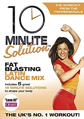 10 Minute Solution - Fat Blasting Latin Dance Mix [Import anglais]