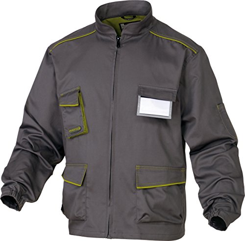 DELTAPLUS Grey work jacket, L, Grey