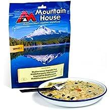 Pasto liofilizzato Mountain House e piccola confezione di salviette rinfrescanti per mani, Mediterranean Vegetable Pasta