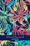Internet Password Logbook: Internet Password And Username Keeper - Internet Password Organizer With Alphabetized Pages - Social Media And Websites ... And Passwords - Internet Password Log Gift