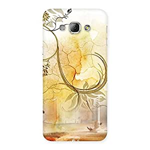 Cute Nature Pattern Multicolor Back Case Cover for Galaxy A8